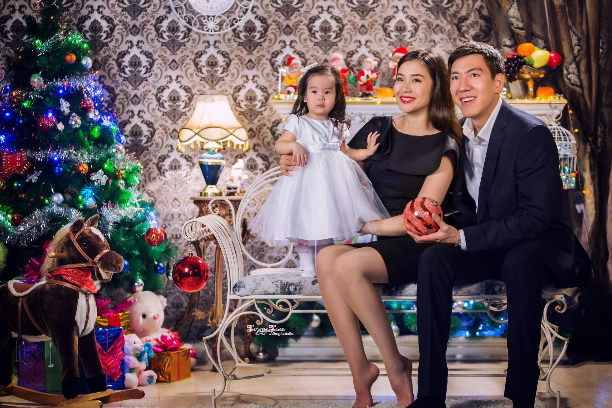 Фотосессия для семьи на новый год