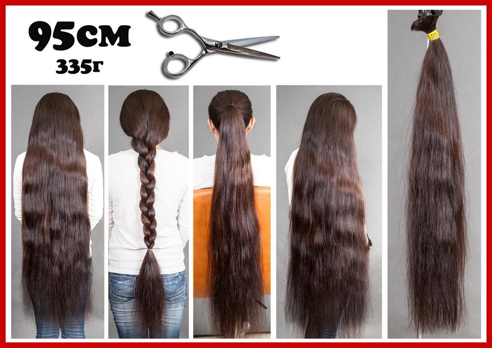 купить и нарастить русые славянские волосы в салоне