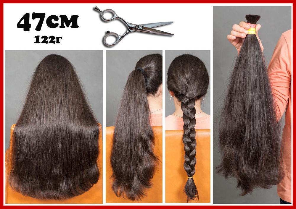 детские волнистые натуральные волосы