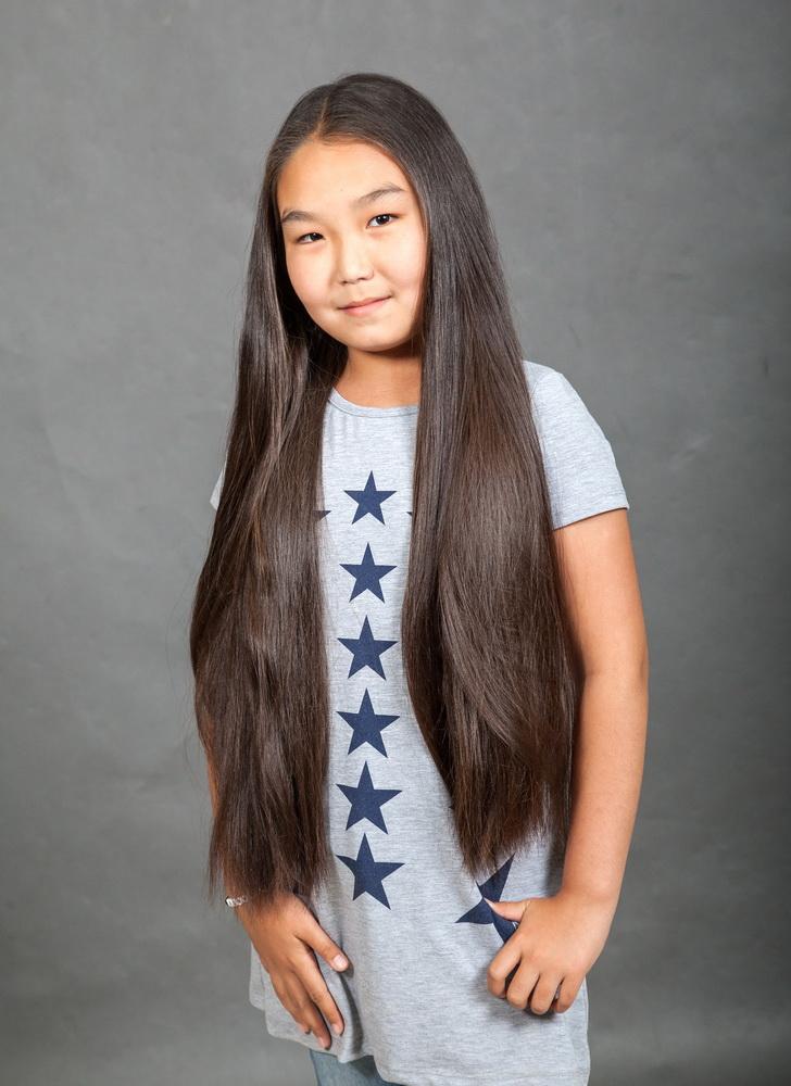 куда можно сдать за деньги детские волосы в салон приёма волос в Казахстане