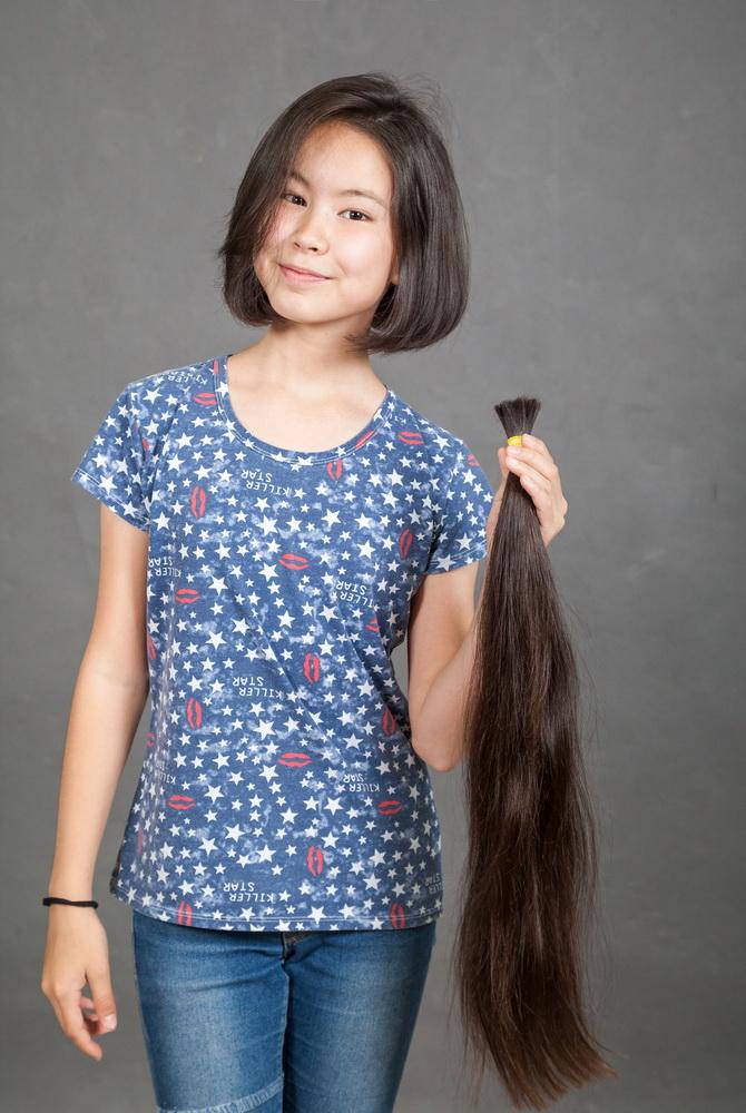где можно продать детские волосы в Алматы