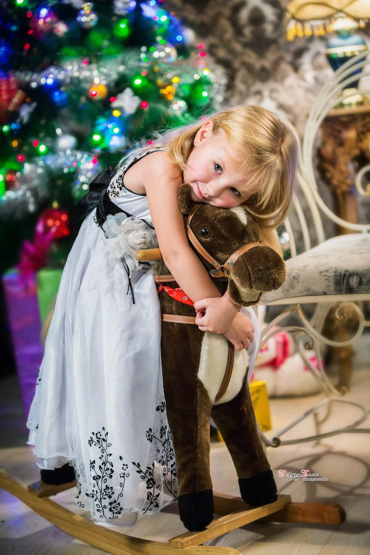 Детская фотосессия на новый год