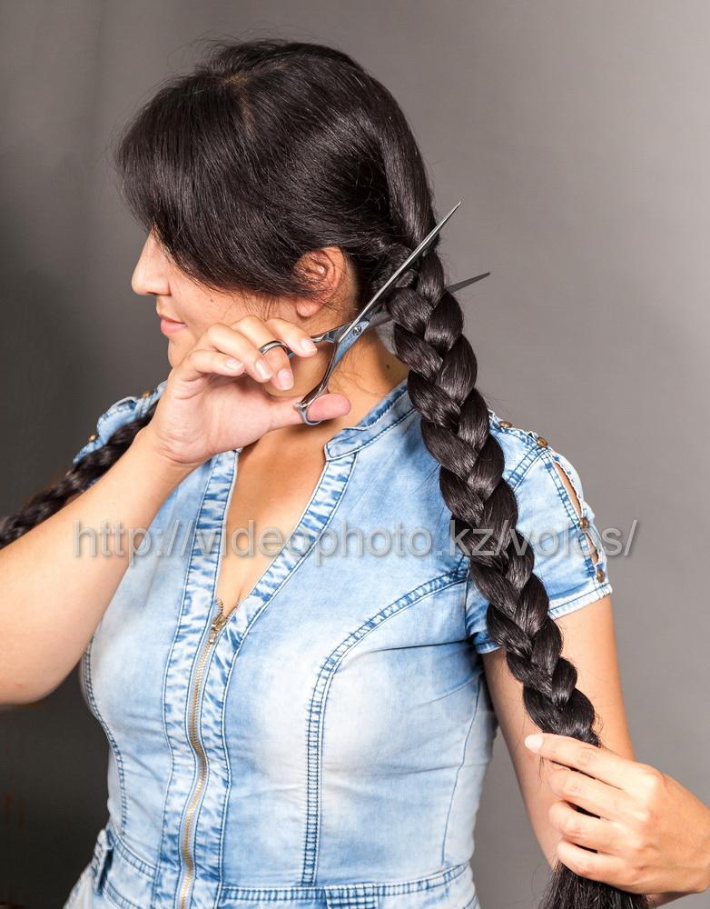 прием натуральных волос
