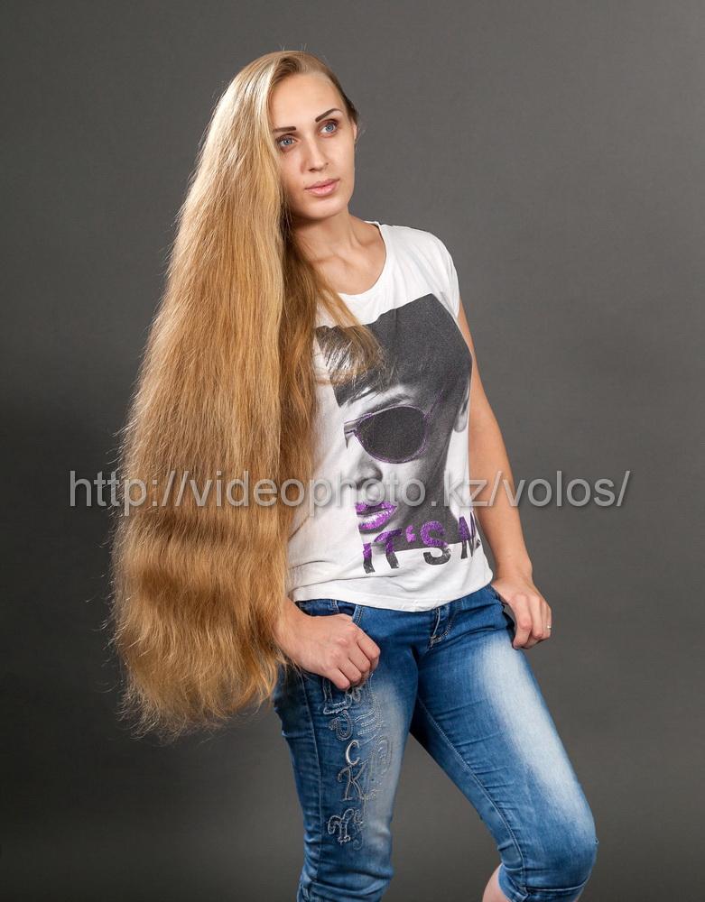 русые натуральные волосы для наращивания