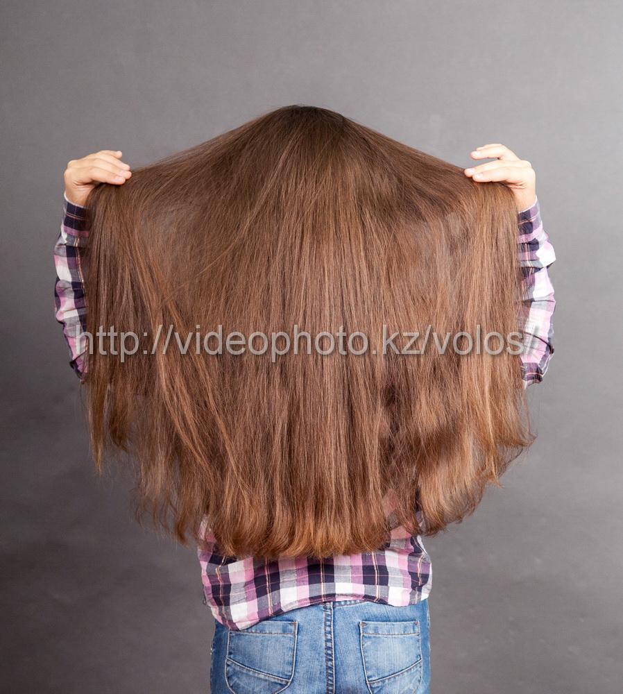 русые славянские детские волосы