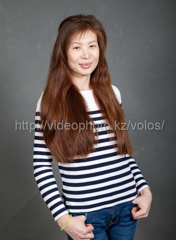 натуральные волосы +для наращивания +на капсулах