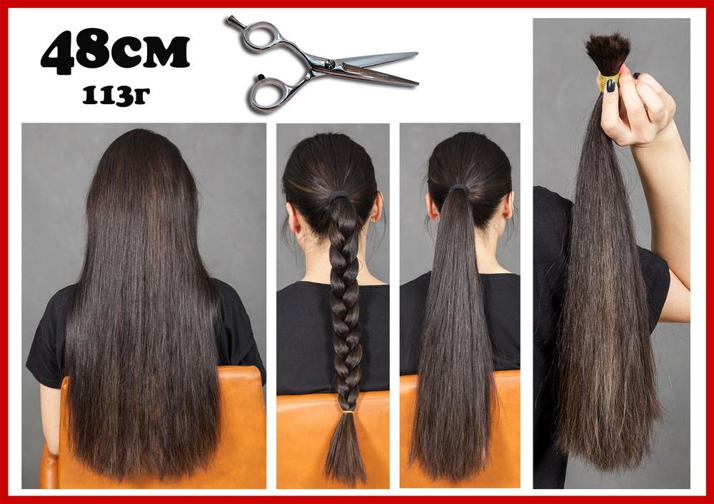 Купить натуральные срезы волос в салоне наращивания