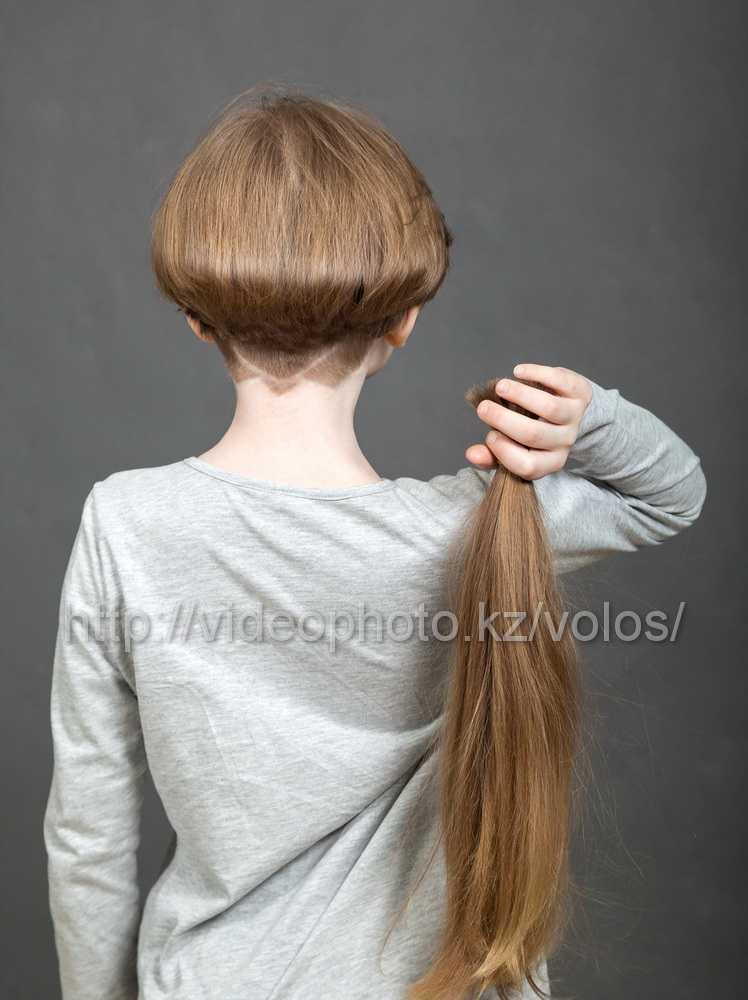 где продать детские натуральные волосы за сколько Талдыкорган