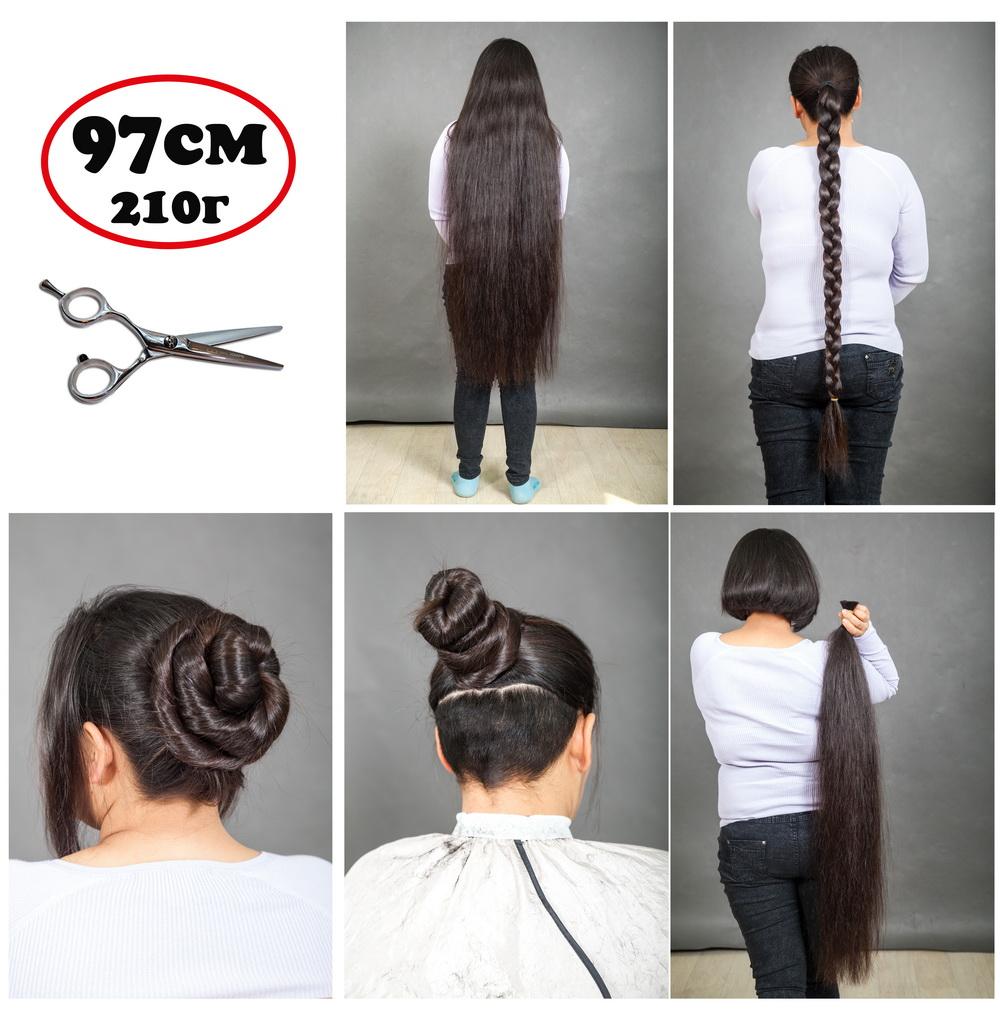 продаётся срез волос 97 см для наращивания