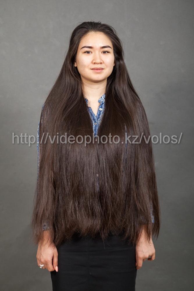 за сколько могу продать свои длинные 60см волосы в Казахстане