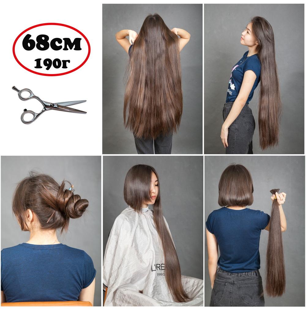 где и за сколько можно купить натуральные русые волосы для наращивания в Москве